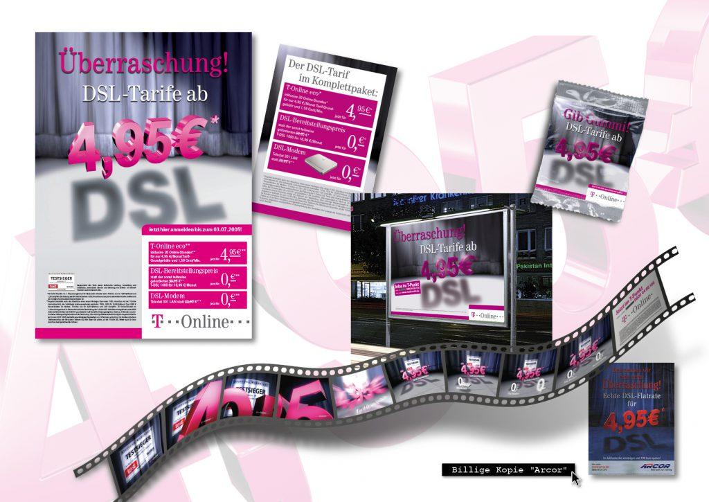 4,95-DSL Kampagne der Telekom