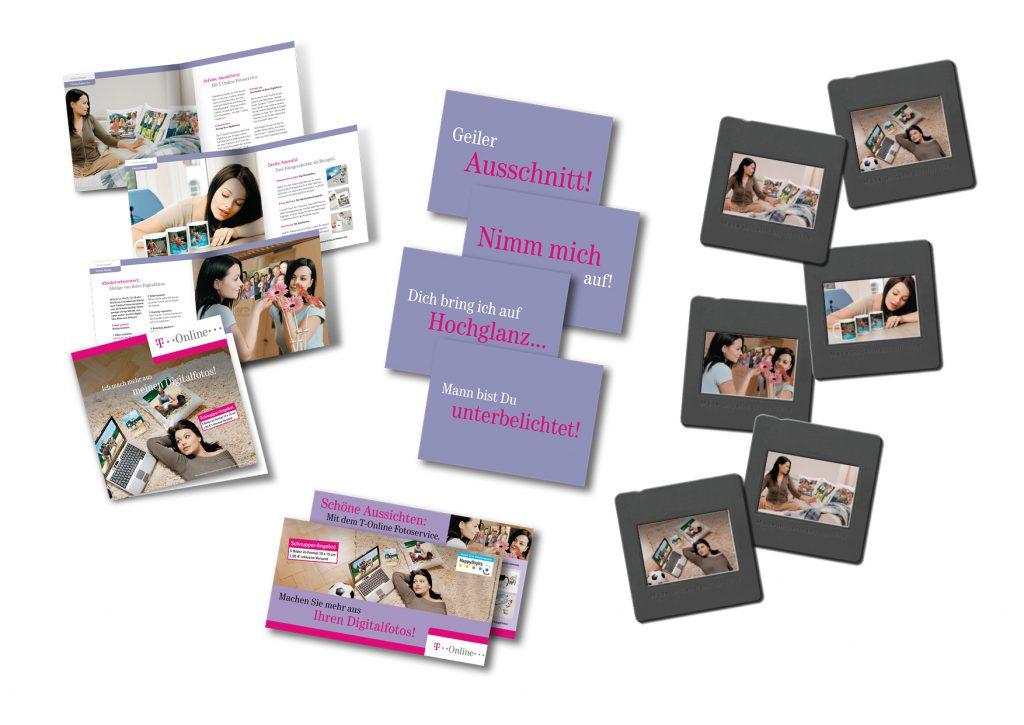 Kampagne für Fotodienste der Telekom