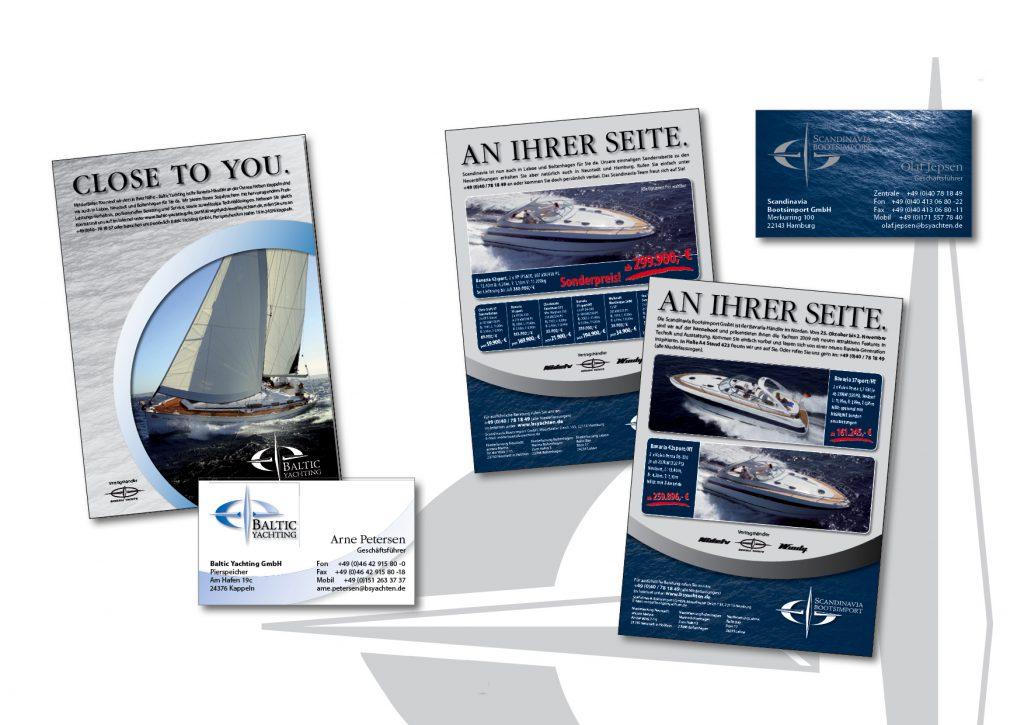 Neuer Auftritt von Baltc Yachting und Scandinavia Bootsimport